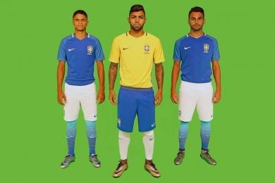CBF lança novos uniformes da seleção brasileira e descarta calção amarelo