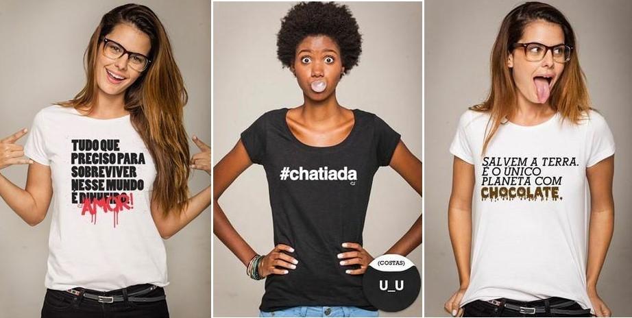 a1d3f2fc4 ... incluir uma camiseta cheia de atitude nas suas produções vai gostar de  conferir algumas frases para camisetas femininas. Quem sabe uma frase  dessas pode ...